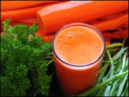 Морковный сок. Будьте осторожны