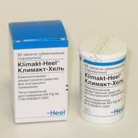 Комплексный гомеопатический препарат Климакт-хель (Klimalt-Heel)