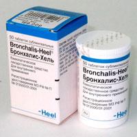 Гомеопатический препарат Бронхалис-Хель (Bronchalis-Heel)