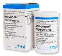 Гомеопатический препарат Нервохель