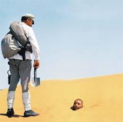 """кадр из """"Белого солнца пустыни"""""""