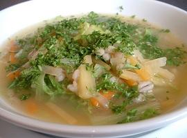 Суп против осенней депрессии