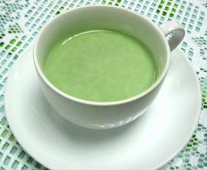 зеленый чай с молоком от запоров