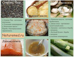 7 главных продуктов питания для здоровья кишечника