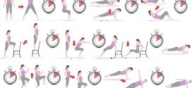 Интервальная тренировка высокой интенсивности для новичков на 7 минут