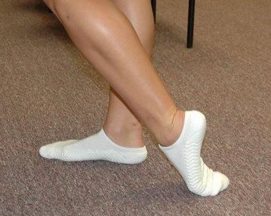 Упражнение - Вытягивание верхней части ступни