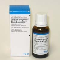 Гомеопатический препарат Лимфомиозот