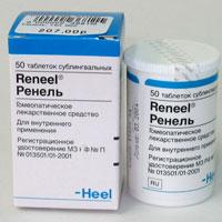 Гомеопатический препарат Ренель Н (Reneel N)