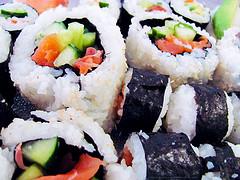 Разгрузочные дни на суши