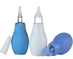 Использование электронного аспиратора и соплеотсоса для облегчения дыхания малыша