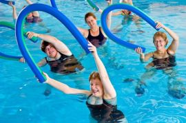 Что такое аквааэробика – фитнес на воде?