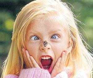 Гомеопатическое лечение укусов насекомых и ожогов крапивой у детей