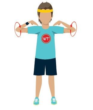 упражнение на вращение плечей