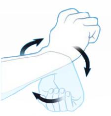 упражнение на вращение кисти руки