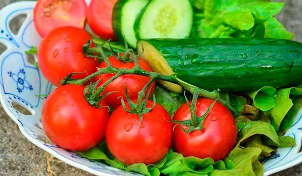 салатные овощи